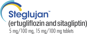 STEGLUJAN™ (ertugliflozin and sitagliptin) 5 mg/100 mg, 15 mg/100 mg Tablets.